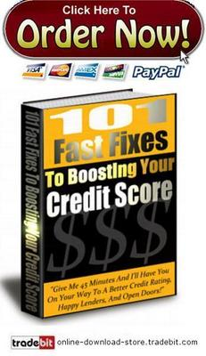 Product picture The Secret Of Boosting Your Credit Rating