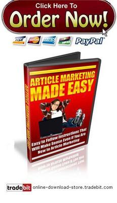 Product picture Article Marketing Made Easy Series