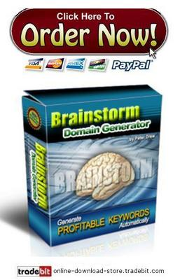 Product picture Brainstorm Domain Generator