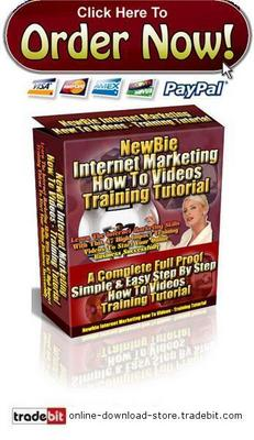 Product picture Newbie Internet Marketing How To Videos Training Tutorial