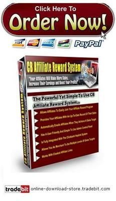 Product picture CB Affiliate Reward System