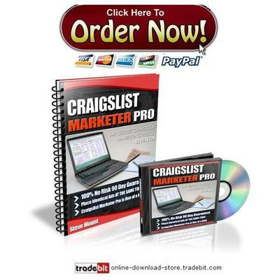 Product picture Craigslist Marketer Pro