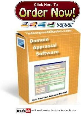 Product picture Domain Appraisal Software