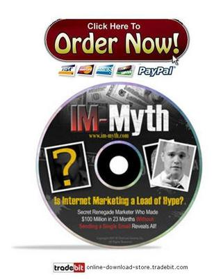 Product picture Internet Marketing Myth