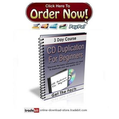 Product picture CD Duplication For Beginners