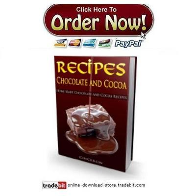 Product picture Chocolate and Cocoa Recipes
